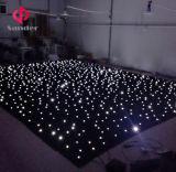 살아있는 결혼식 쇼 티끌 반짝반짝 빛나는 하늘 별 커튼을%s 전체적인 백색 LED 별빛 커튼