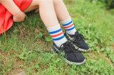 사랑스러운 학교 복장 면은 소녀 학교 면 양말 대중적인 도매를 친다