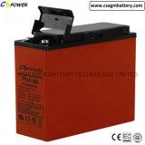 3years bateria terminal dianteira da garantia 12V200ah para os projetos Telecom