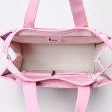 Dos tallas impermeabilizan el bolso de las mujeres del color de rosa del bolso de hombro del PVC (H032)