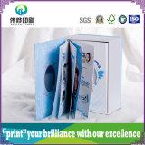 Caixa de papel de empacotamento de impressão de cor (com livro)