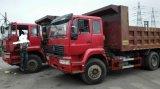 De gebruikte Vrachtwagen van de Stortplaats van China, 6X4 Vrachtwagen van de Stortplaats van de Aanhangwagen van de Kipper Hino van HOWO de Zware Achter voor Goedkoopste Verkoop!