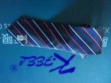 Cravate tissée par Polyeter BRITANNIQUE avec le logo à la grande extrémité