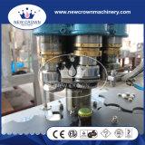 Tipo linear máquina do aço inoxidável de enchimento da cerveja para o frasco de vidro