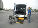 CER Fully Electric Wheelchair Lift für Van mit Split Platform (WL-D-880S-1150)