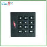 leitor Output IP64 da porta do formato de Wiegand 26 do leitor de cartão do teclado da proximidade de Em-IDENTIFICAÇÃO 125kHz para fora