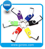 USB caliente giratoria promocionales personalizados con el logotipo Flash Drives