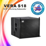 Vera S18 de Serie Subwoofer van de Lijn van de Spreker van de PA van 18 Duim
