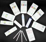 Teste rápido Dipcard de Thc da marijuana do teste das drogas/um jogo rápido do teste da etapa