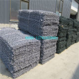 Главным образом изготовление коробки PVC Coated Gabion, корзины PVC Gabion