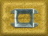 Горячая ковкая сталь выковала приспособление контейнера OEM хлеща