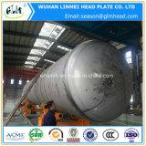 Aço inoxidável 304 cabeças do tanque para os tanques de água