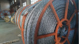 反ねじれる電流を通された試験鋼線ロープ