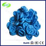 De blauwe ESD latex-Vrije poeder-Vrije die Wiegen van de Vinger van het Nitril in Maleisië (egs-001) worden gemaakt