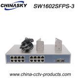 2ポートSFP + 16ポートRJ45イーサネットギガビットスイッチ(SW1602SFPS-3)