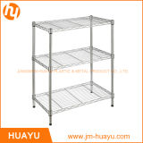 Сверхмощное Homeware 60L X 45W x 70h 3-Tier Wire Steel Shelving Adjustable Rack Storage Shelf