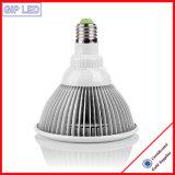 Gip PAR38 12W LED planta crecen luz para uso en interiores