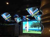 panneau de mur élevé d'affichage vidéo de la boîte de nuit de définition de 5mm DEL