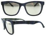 2016 a polarisé des lunettes de soleil d'acétate de Jean en verre de Sun de modèle de l'Italie