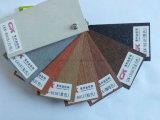 Madera impermeable de la depresión de la venta directa de la fábrica y suelo plástico del Decking WPC del compuesto WPC