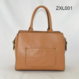 Zexin는 Decorative Wardware PU Fashion Crossbody Handbag Zxl001로 지퍼로 잠그었다 Flap