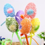 Ovos de Easter plásticos das decorações com The-009