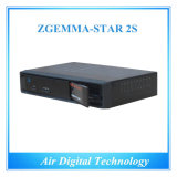 Zgemma-Star 2s Satellite Receiver HD DVB s DVB S2 Twin Tuner Satellite Decoder отсутствие Dish FTA с IPTV