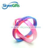 Personalized Designの高品質Swirl Silicone Bracelets