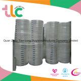 Tela no tejida del Nonwoven de la toalla sanitaria de la tela de Quanzhou