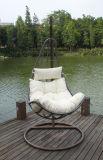居間の家具のタイプ屋内藤のハングの卵の椅子