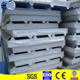 50mm 75mm 100mm Dachpanel Zwischenlage kundenspezifischer des Zwischenlagepanel-Dachdoppelten des China-Lieferanten ENV gewölbter Stahlbaustahl