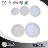 중국 Best Supplier Square Round LED Panel Light 3W 6W 9W 12W 15W 18W 24W LED Panel Ceiling SAA UL