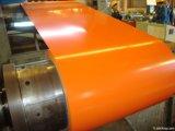 Hoja acanalada galvanizada edificio PPGL/PPGI del material para techos de la bobina de acero de la estructura de acero