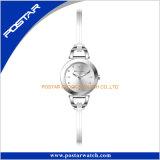 여분 Silm 가죽 악대 선물 가장 새로운 디자인 여자 스위스인 시계