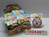 Juguete determinado del tambor plástico del jazz con el buen regalo de la promoción del caramelo