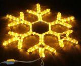 Luz nova do floco de neve do diodo emissor de luz da chegada 2016 para a decoração do feriado