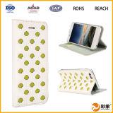 Caja al por mayor del teléfono celular del cuero de la carpeta para el iPhone 6