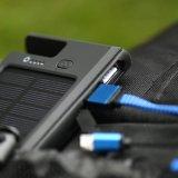 Solaraufladeeinheit 10000mAh verdoppeln USB-bewegliche Energien-Portbank
