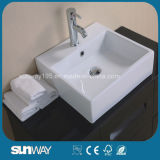 Горячий продавая шкаф ванной комнаты с зеркалом (SW-M006)