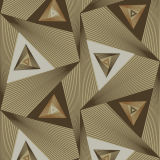 3D drie-Dimension Modern Wallpaper met Customized
