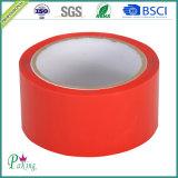 Nastro impaccante rosso dell'adesivo OPP di colore della pellicola di BOPP