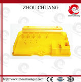 安全なロックは、非導電ナイロンロックする掛け金(ZC-K43)を