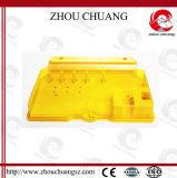 El cierre seguro, de nylon Non-Conductive bloquea hacia fuera el cerrojo (ZC-K43)