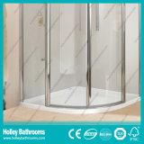 Pièce de douche se pliante de forme d'arc de fin élevée avec le bâti d'alliage d'aluminium (SE313N)