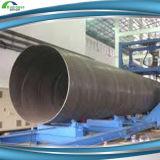 Tubo de acero API 5L X52 del espiral de la técnica de ERW