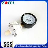 Plein indicateur de pression de membrane en plastique avec le diamètre 75mm 100mm