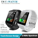Supporto Android ed IOS Cina Supplier U8 Smart Digital Wrist Bluetooth Clock Watch