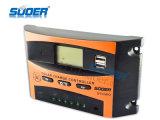 Regulador del cargador del panel solar de Suoer 12V 24V 10A (ST-C1210)