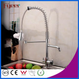 Fyeer Pull out Spray Kitchen Faucet avec Water Flow Filter Tap