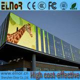 Precio al aire libre de alta resolución brillante estupendo de la visualización de LED P10